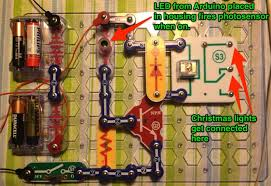 programme a string of xmas lights to blink morse code with arduino