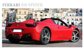 how much are ferraris in italy luxury car hire italy car prestige car and sport cars