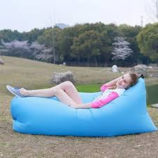 inflatable folding sleeping lazy bag waterproof portable air sofa