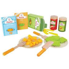 zubehör für kinderküche hape pasta set e3125 für die kinderküche