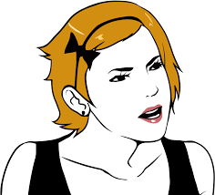 Meme Girl Face - are you serious girl by rober raik on deviantart