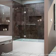 glass door in bathroom dazzling dreamline shower door decorating for bathroom modern
