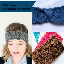 crochet bands 20 free and easy crochet headband patterns