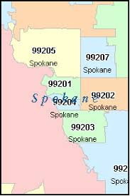 spokane zip code map washington zip code map afputra com