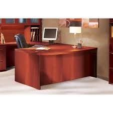 72 inch desk with drawers mayline aberdeen 72 inch cherry bow front desk shell free shipping