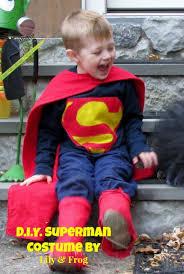 Toddler Superman Halloween Costume Diy Superman Halloween Costume Lily U0026 Frog