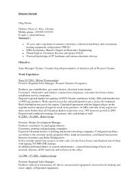 Hvac Resume Template Field Marketing Representative Resume Top 10 Field Marketing
