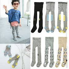 click to buy cotton tights child toddler print