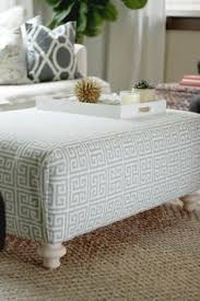 How To Make An Ottoman Out Of A Coffee Table How To Make Upholstered Ottomans From Scratch Diy Ottoman