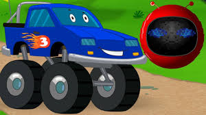 monster trucks kids video zobic monster truck stunts u0026 actions big truck kids video
