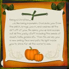 you are like a pumpkin christian poem ideas