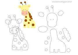 felt giraffe pattern felt animals u0026 birds pinterest felt
