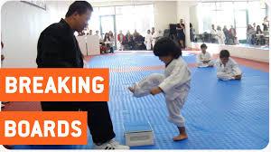 Nerd Karate Kid Meme - little boy trying to break board in taekwondo the new karate kid