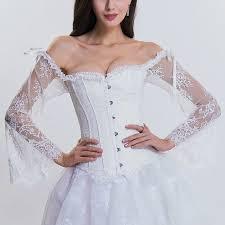 Wedding Corset Lingerie Online Get Cheap White Corset Lingerie Aliexpress Com