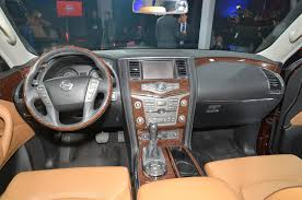 nissan armada interior lighting package up close and personal with the 2017 nissan armada platinum