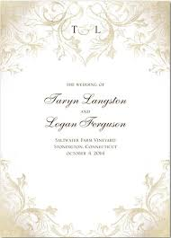 Church Programs For Wedding Wedding Programs Wedding Program Wording