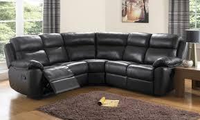 Corner Settees And Sofas Designer Black Cream Corner Recliner Leather Sofa Centerfieldbar Com