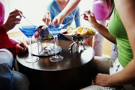 host a french cocktail party