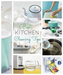 craftionary kitchen cleaning tips