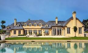 maison sur le lac u2013 a lakefront french country mansion in santa