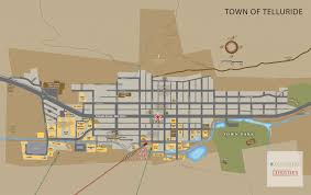Telluride Colorado Map by Map Of Telluride Colorado And Surrounding Regions Telluride Real