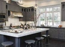 classic and trendy 45 gray and white kitchen ideas sophisticated kitchen designs grey and white images simple design