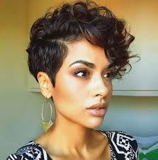 short wavy pixie hair short curly hair style curls pixie haircut popular haircuts