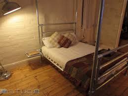 pipe u0026 clamp bed frame 9 u2013 studio b
