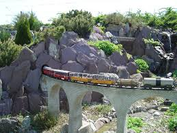 Garden Railroad Layouts Wow G Scale Railway In Switzerland Garden Railways Pinterest