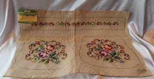bucilla needlepoint prework cottage purse kit from