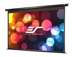 home theater projector screens amazon com elite screens spectrum 100 inch diag 16 9 electric