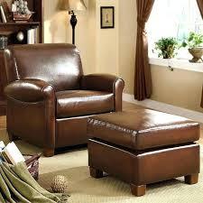 Ottoman Armchair Chair Ottoman Set Leather Chair And Ottoman Unique Leather Chair