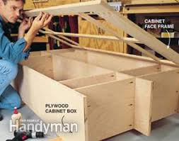 how to build base cabinets with kreg jig building cabinets with pocket screws diy