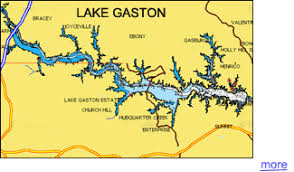 outdoor world lake gaston map lake gaston guide everything about the lake