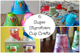 6 super styrofoam cup crafts