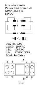 tyco electronics relay wiring diagram wiring diagrams