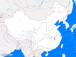 Blank Map Of East Asia by China Outline Map A Learning Family