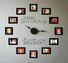 personalized clocks with pictures personalized photo wall clock customized wall clocks customized