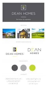 home and design logo 14 best brand boards by imageffect images on pinterest brand