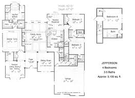 4 bedroom ranch floor plans 4 bedroom house floor plans marvelous 10 ranch house plans plan