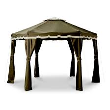 Patio Gazebos by Hexagon Gazebo Canopy Canopies U0026 Gazebos Compare Prices At Nextag