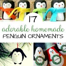 penguin ornaments diy ted s