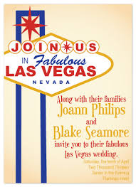 wedding invitations las vegas wedding invitations viva las vegas at minted