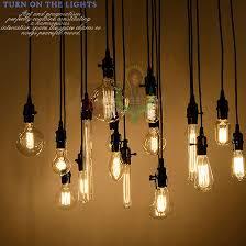 wholesale 18set edison antique bulb pendant lamps diy nostalgic