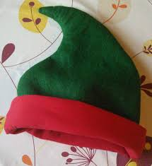 elf hat sewing pattern free holiday crafts pinterest elf hat