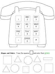shapes worksheets for pre k worksheets
