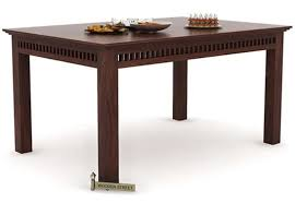 Dining Tables Buy Dining Table Online  Wooden Street - Kitchen tables wood