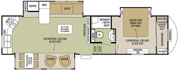 Forest River 5th Wheel Floor Plans Forest River Silverback Fifth Wheels