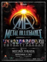 metal allegiance best buy theater performance
