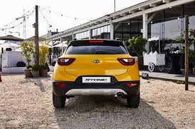 kia stonic compact suv unveiled not for australia forcegt com